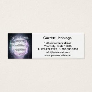 Lord's Prayer Mini Business Card