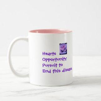 Lori's Hope Two-Tone Coffee Mug