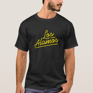 Los Alamos in yellow T-Shirt