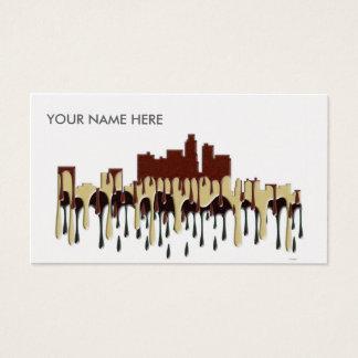 LOS ANGELES, CALIFORNIA SKYLINE - CC BUSINESS CARD