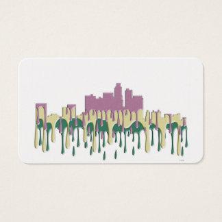 LOS ANGELES, CALIFORNIA SKYLINE - PCG BUSINESS CARD
