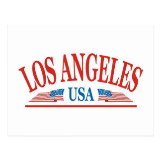 Los Angeles California USA Postcard