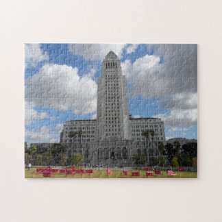 Los Angeles City Hall Jigsaw Puzzle
