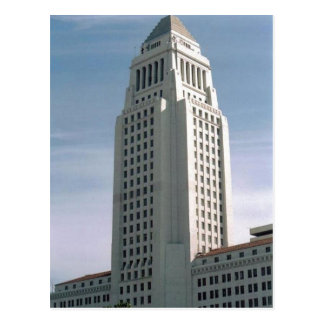 Los Angeles City Hall Postcard