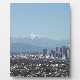 Los Angeles Display Plaque