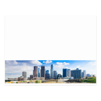 Los Angeles Panorama Postcard