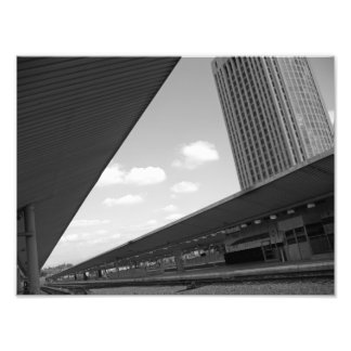 Los Angeles Train Tracks Photographic Print