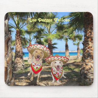 Los Perros Felices Mouse Pad