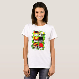 LosMoyas Wall of Weed T-Shirt