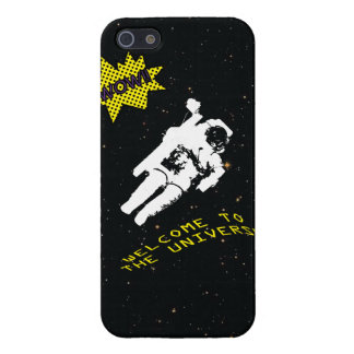 Lost Astronaut in the Universe iPhone 5 Case