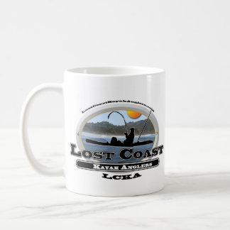 Lost Coast Kayak Anglers Basic White Mug