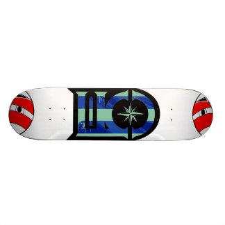 Lost Kids & Company Blue Skate Board Deck