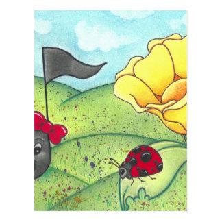 Lost Lullaby Ladybug Lullaby Postcard