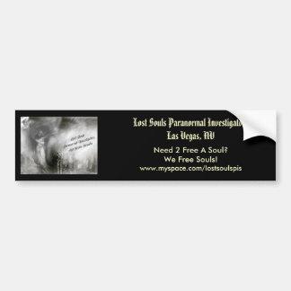 Lost Souls Bumper Sticker (Angel Logo)
