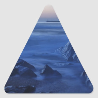 Lost world... triangle sticker