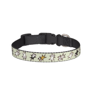 Lots of cats pet collars