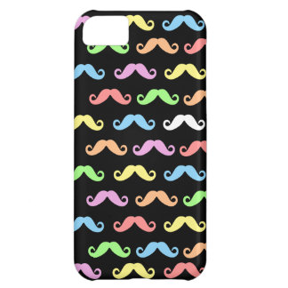 Lots of Mustaches (black) iPhone 5C Covers