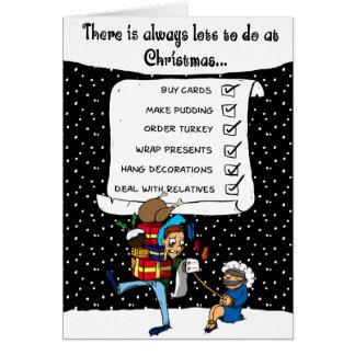 Lots to do at Christmas Greeting Card
