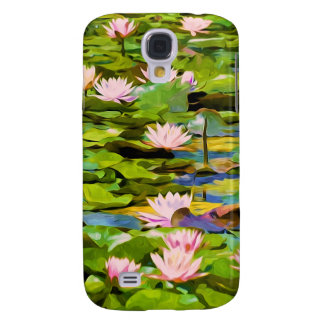 Lotus Blossoms On The Protected Forest Lake Samsung Galaxy S4 Case