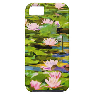 Lotus Blossoms On The Protected Forest Lake iPhone 5 Covers