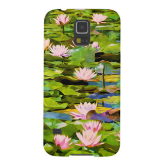 Lotus Blossoms On The Protected Forest Lake Cases For Galaxy S5