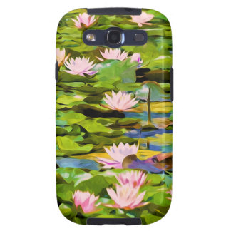 Lotus Blossoms On The Protected Forest Lake Samsung Galaxy SIII Case