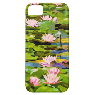 Lotus Blossoms On The Protected Forest Lake iPhone 5 Case