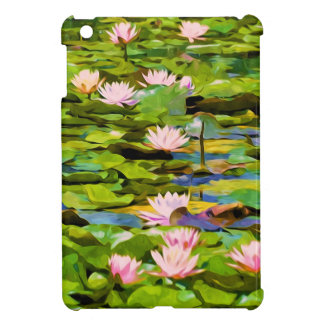 Lotus Blossoms On The Protected Forest Lake Case For The iPad Mini