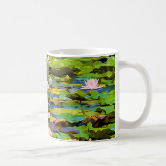 Lotus Blossoms On The Protected Forest Lake Mugs