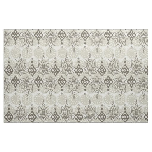 lotus diamond linen fabric