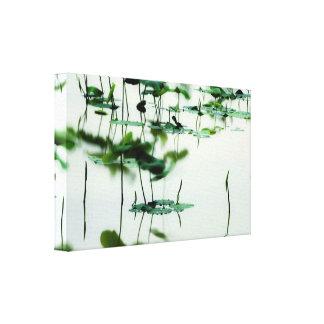 Lotus Fairyland Photographic Art -6 Canvas Print