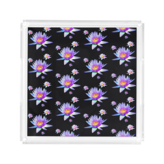 Lotus Flower Acrylic Tray