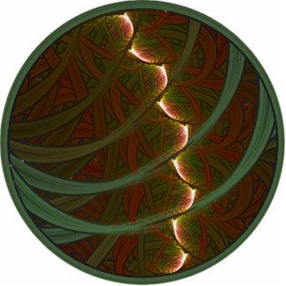 Lotus Horse Moon Photo Sculpture Key Ring