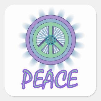 Lotus Peace Symbol Sticker