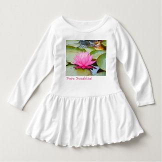 Lotus Toddler Dress
