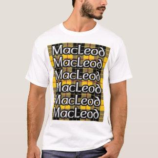 Loud MacLeod Clan Scottish Tartan T-Shirt