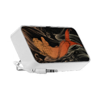 Loudspeaker Japanese Fish Orange PC Speakers