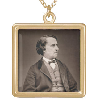 Louis Blanc (1813-82), from 'Galerie Contemporaine Gold Plated Necklace