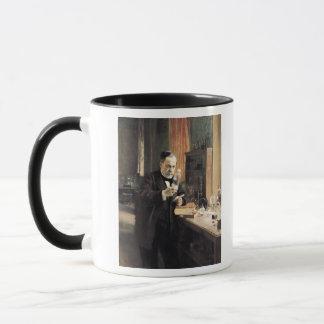 Louis Pasteur  in his Laboratory, 1885 Mug