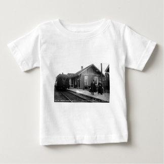 Louis Pesha Ann Arbor Railroad Depot Shepherd, MI Baby T-Shirt