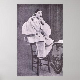 Louis Rouffe as Pierrot Print