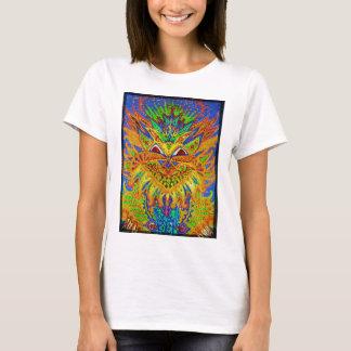 Louis Wain - Blue Paisley Cat T-Shirt