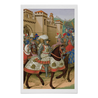Louis XII (1462-1515) Leaving Alexandria on the 24 Poster