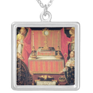 Louis XIII  Anne of Austria  Infanta of Spain Silver Plated Necklace