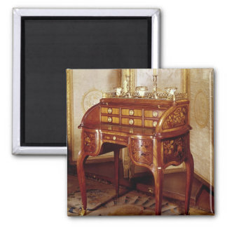 Louis XV Writing Desk Square Magnet