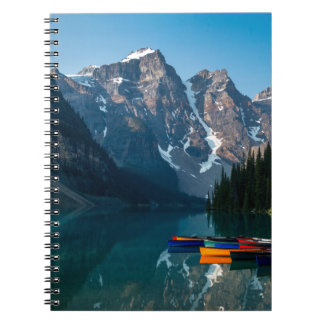Louise lake in Banff national park Alberta, Canada Notebooks