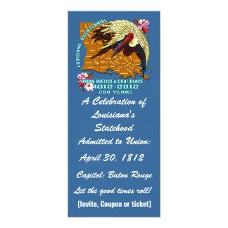 Louisiana Bicentennial  Important See Notes Below Rack Card Template