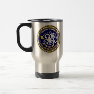 Louisiana Bicentennial  Mardi Gras Party See Notes Stainless Steel Travel Mug