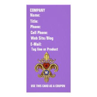Louisiana Business  Card Photo Vertical Custom Photo Card