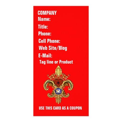 Louisiana Business  Card Photo Vertical Customized Photo Card